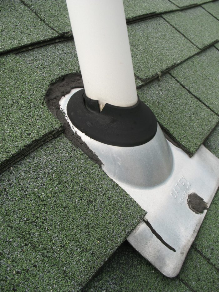 Roof Vent Boot Installation